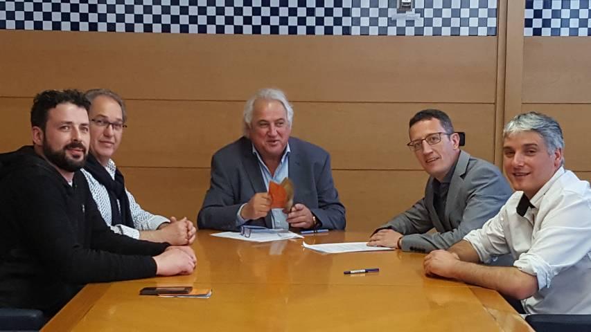 Nou conveni de col·laboració amb l'Ajuntament d'Olot